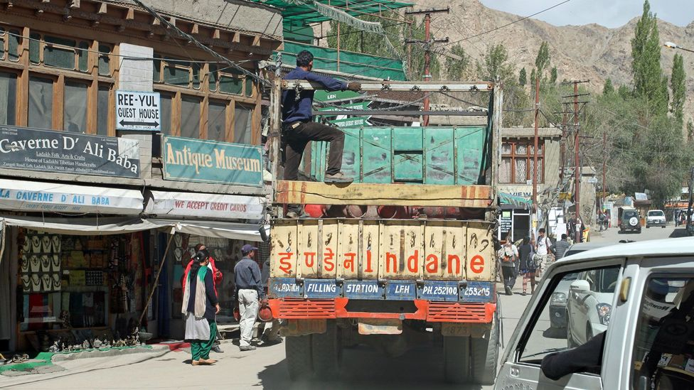 Leh is home to a branch of the Indo-Tibetan Border Police, Paljor's former employer