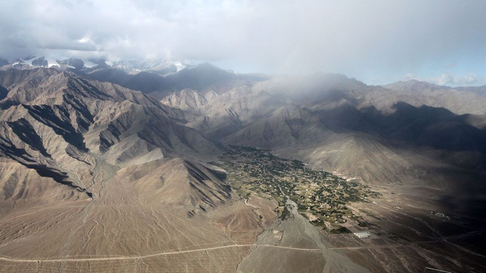 """Ladakh, """"owner of passes,"""" which lies in the shadow of the Great Himalayas"""
