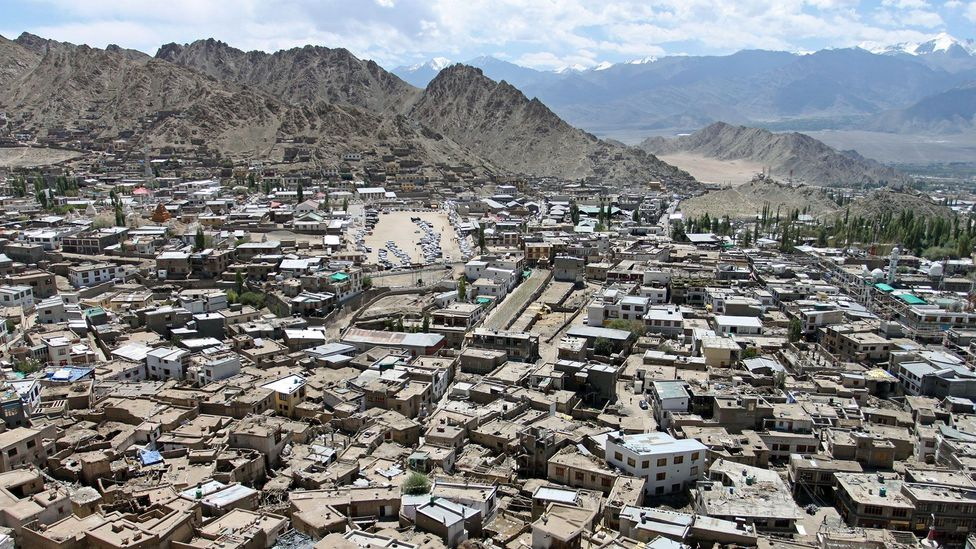 Leh from above