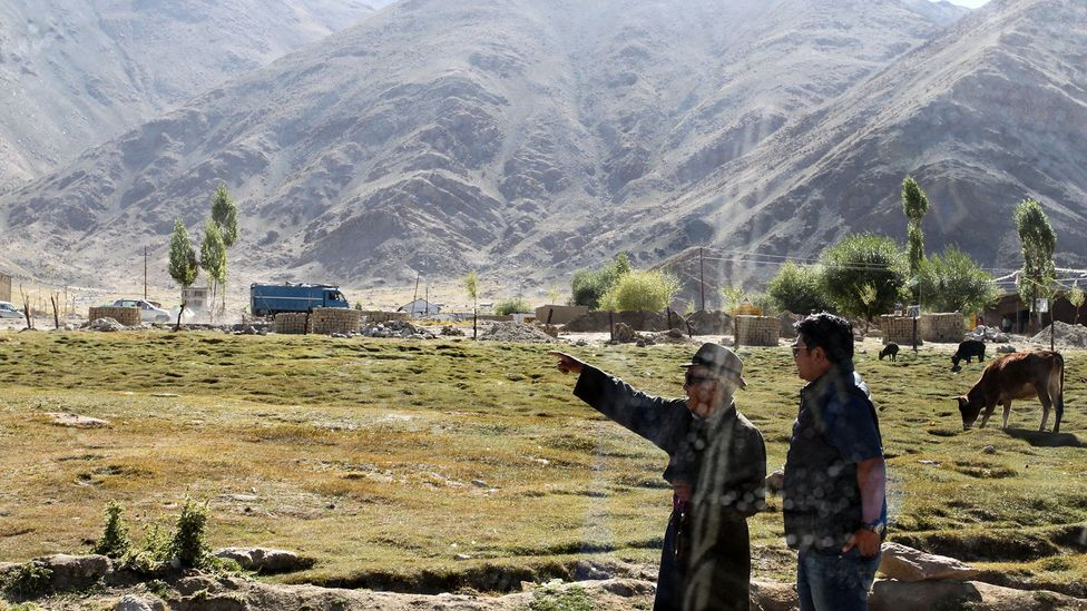 Getting directions in Ladakh