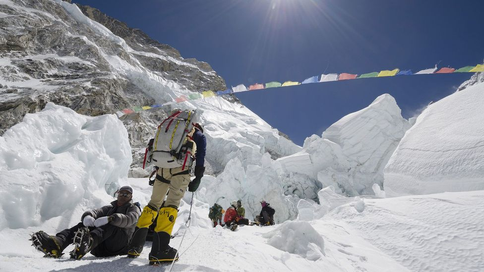What responsibility should climbers have for their fellow mountaineers? (Credit: Rex)