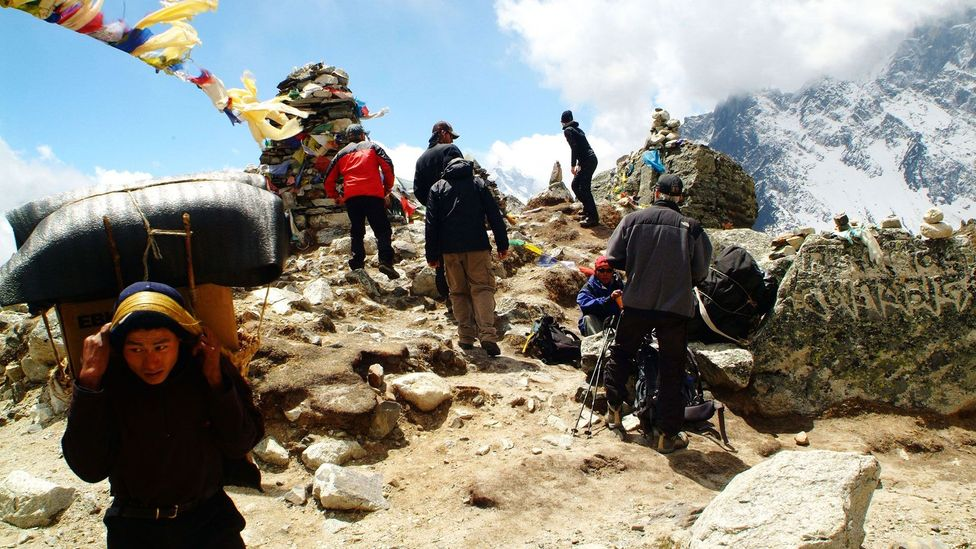 Everest has now been summited by more than 4000 people (Credit: Rex)