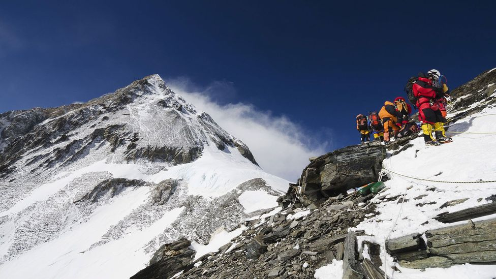When summit fever takes hold, success shapes decisions more than safety (Credit: Rex)