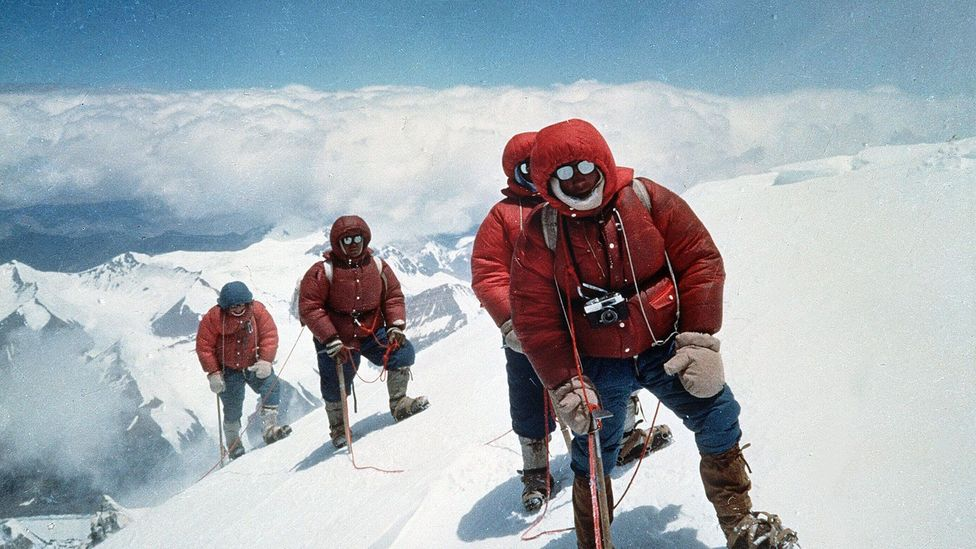 In the 1970s, climbing Everest was less commercialised than it is today (Credit: Rex)