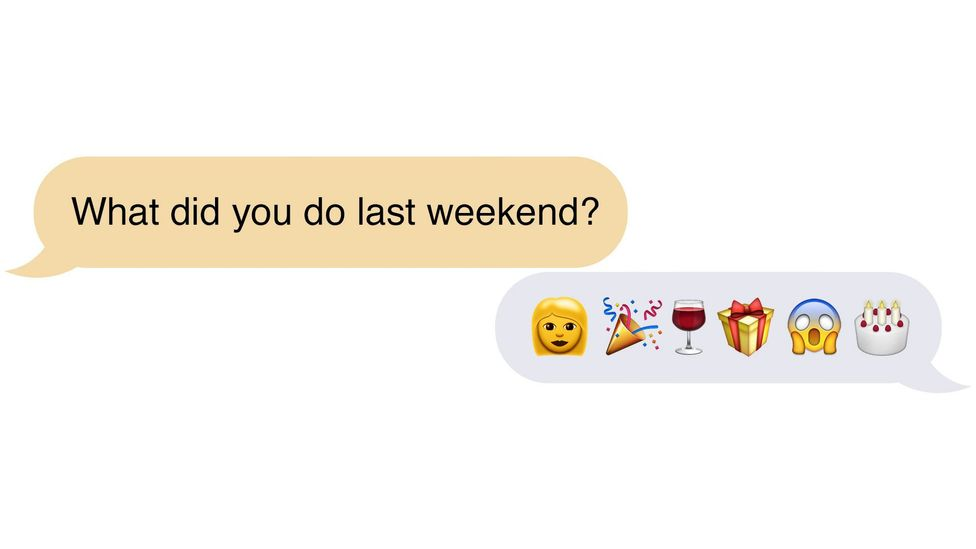 In certain circumstances, emoji follow sequences that represent the order of events (Credit: Neil Cohn/Adam Proctor)