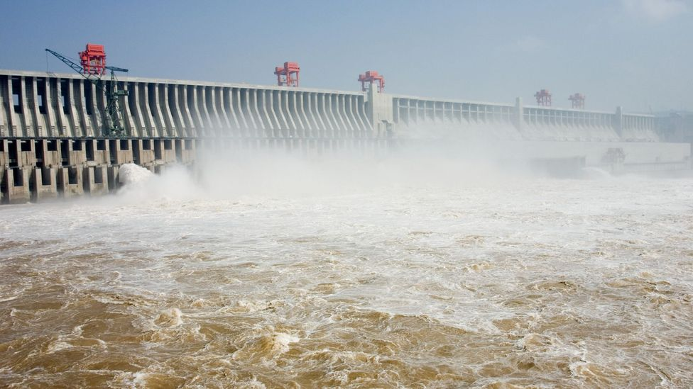 The Three Gorges Dam is intended to show the world China's engineering prowess (Credit: Science Photo Library)