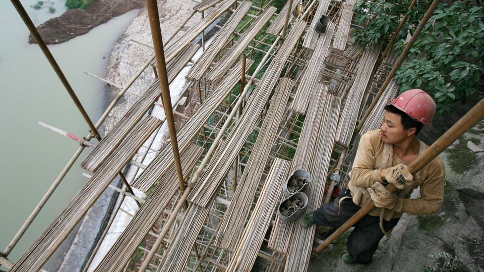 There was much criticism in China of the Three Gorges Dam, even before it was built (Credit: Getty Images)