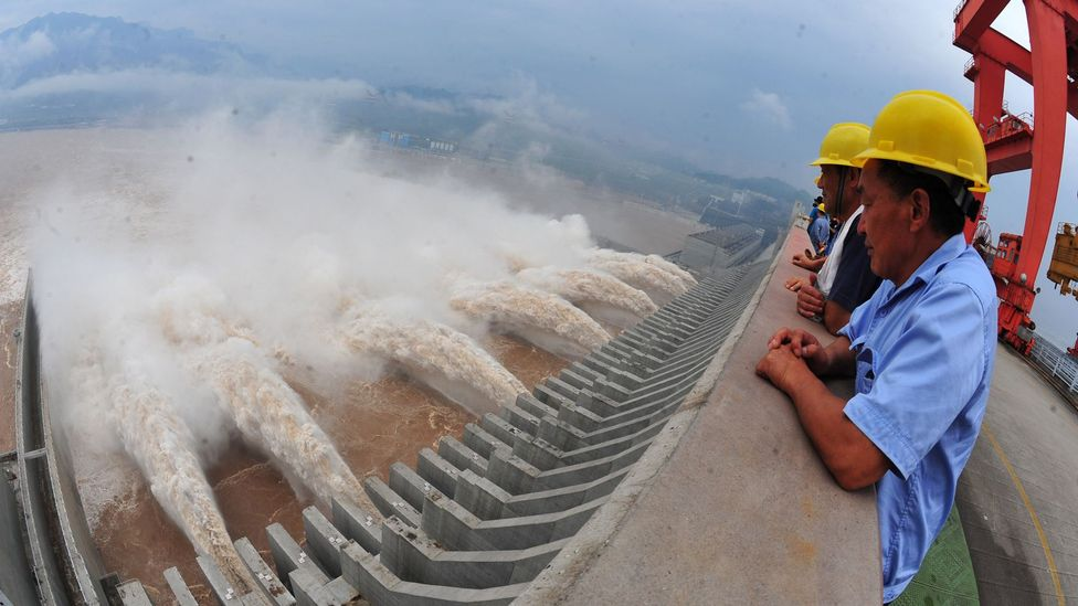The Three Gorges Dam has so far prevented the kind of flood that has killed millions over the ages (Credit: Getty Images)