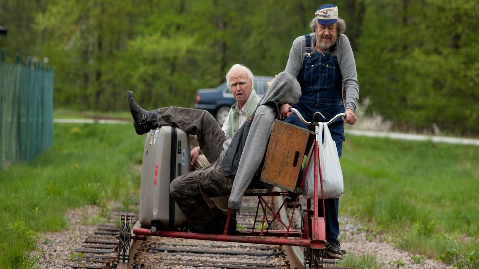 Sweden's The 100 Year Old Man Who Climbed Out of a Window and Disappeared is a recent comedy from Scandinavia that has found international success (Credit: Music Box Films)