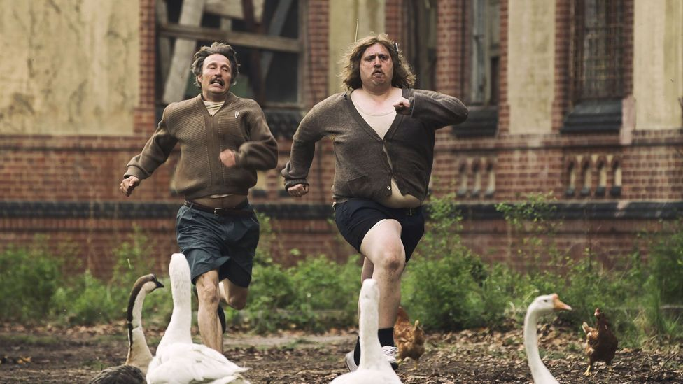 Men and Chicken stars Mads Mikkelsen and Borgen's Søren Malling and is a comedy about five grotesquely disfigured brothers (Credit: Walt Disney Company Nordic)