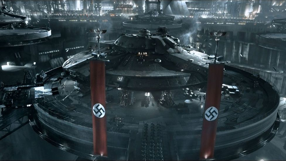 Iron Sky, a B-movie romp about Nazis living on the moon, failed in its mission to make critics laugh (Credit: Entertainment One)