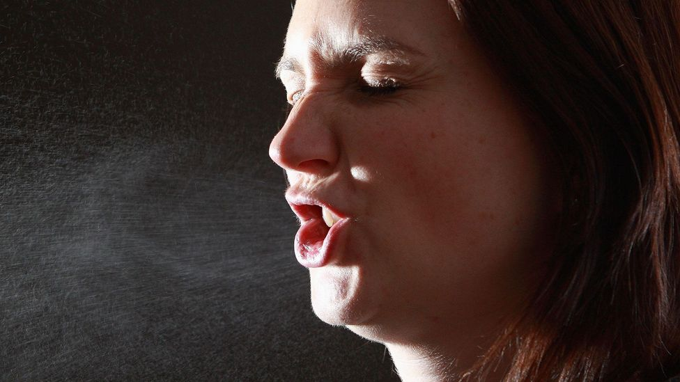 To understand why dry air makes us ill, you need to understand the peculiar dynamics of our coughs and sneezes (Credit: Getty Images)