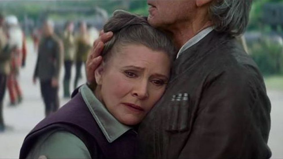 Could Princess Leia and Han be lamenting Luke's absence? (Credit: Disney/Lucasfilm)
