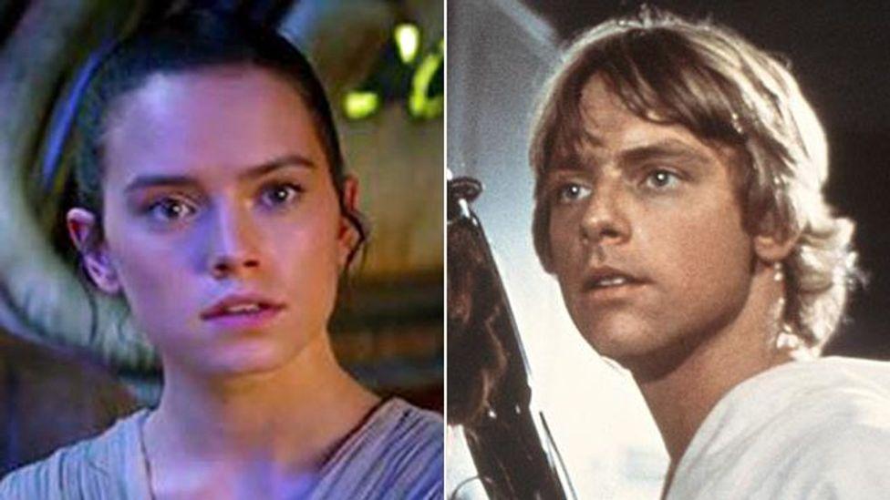 Does Rey have the 'Skywalker mouth'? (Credit: Disney/Lucasfilm)