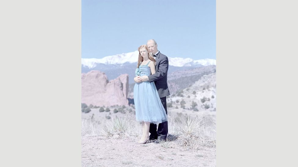Grace (14) & Gary Kruse, Black Forest, Colorado