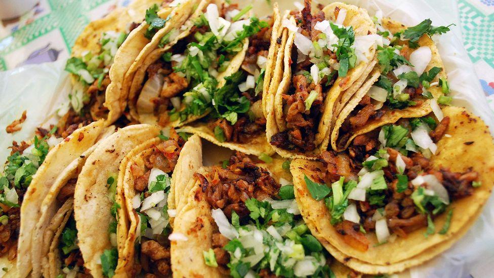 Secret recipes for marinated pork make al pastor tacos special (Credit: Ari Helminen/Tacos al Pastor/Flickr/CC BY 2.0)