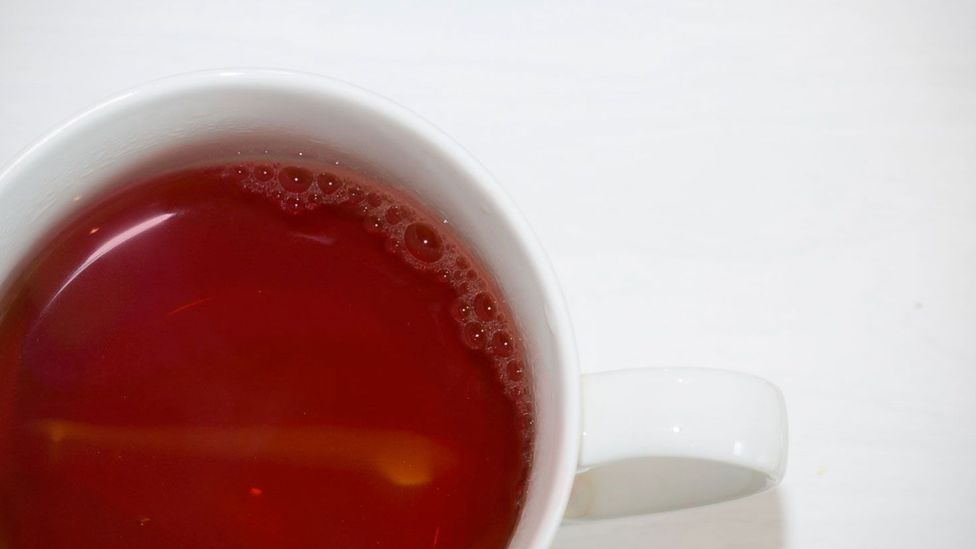 After harvesting, mixing blood with tea and herbs can help preserve the precious commodity (Olivia Howitt)