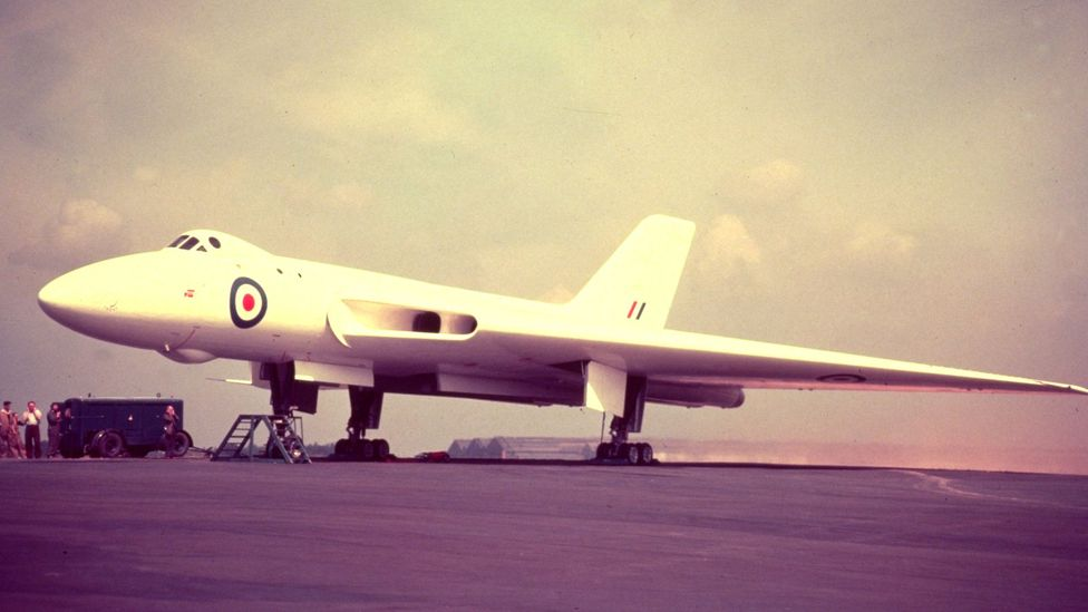 Vulcans entered service in the 1950s as part of Britain's nuclear deterrent (Credit: Getty Images)