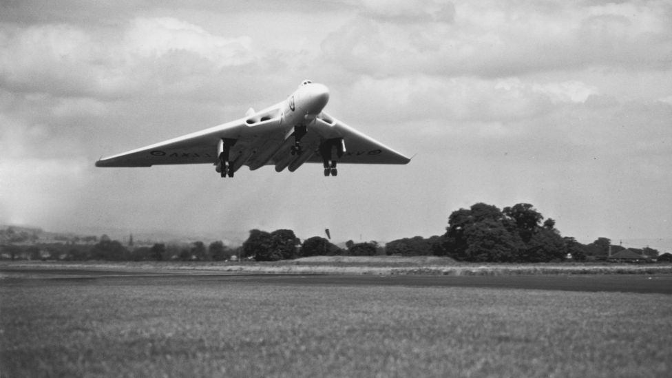 Vulcans were designed to hit targets in the Soviet Union with nuclear bombs (Credit: Getty Images)