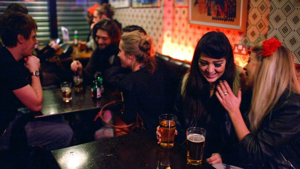 No other generation drank as much in their early 20s in Britain as those born around 1980 (Credit: Maciej Dakowicz/Alamy Stock Photo)