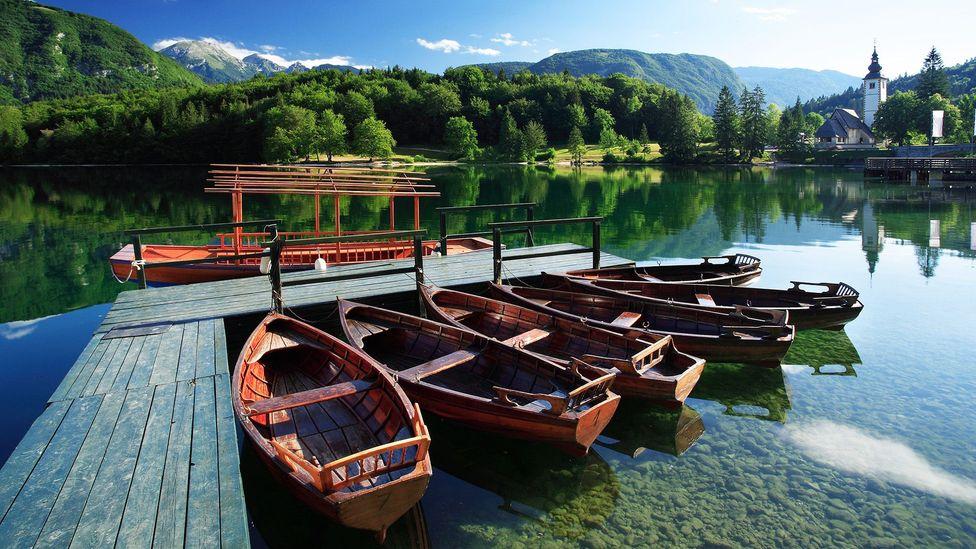 The quiet stillness of Lake Bohinj can feel overwhelming (Credit: Slovenian Tourist Board)