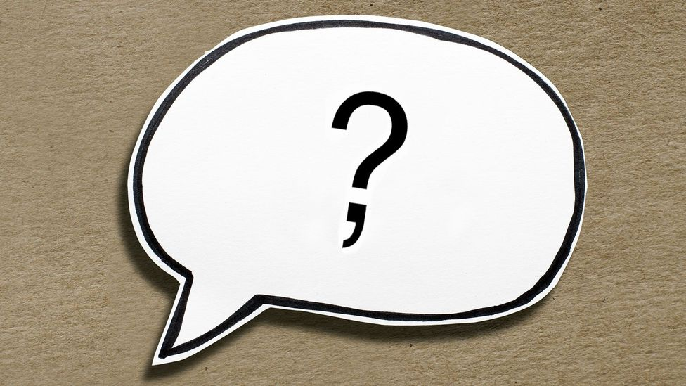 With their interrobang comma, the inventors intended that each clause in a sentence could be made to be questioning or exclamatory (Credit: Olivia Howitt/Thinkstock)