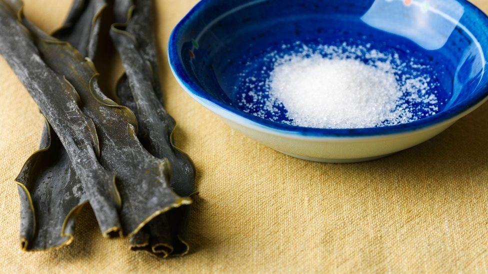 Kikunae Ikeda isolated glutamate from kombu seaweed, and added sodium to create monosodium glutamate (Credit: Mariano Montero/Alamy)