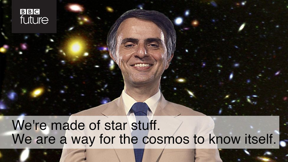This quote, also from Cosmos, is one of Sagan's most famous. The success of his words living on in memes shows how good he was at communicating (Credit: Getty Images/William Park)