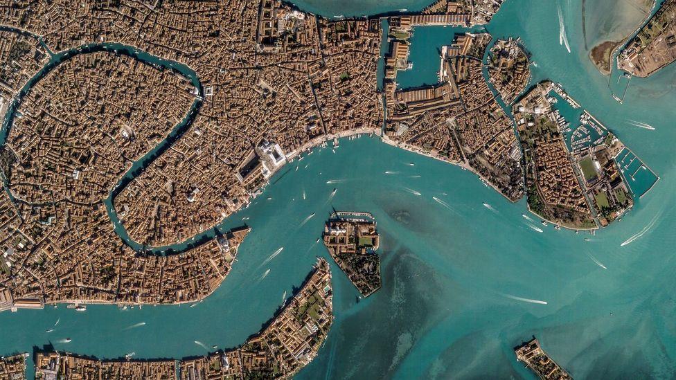 Venice, Italy (Credit: Google Earth)
