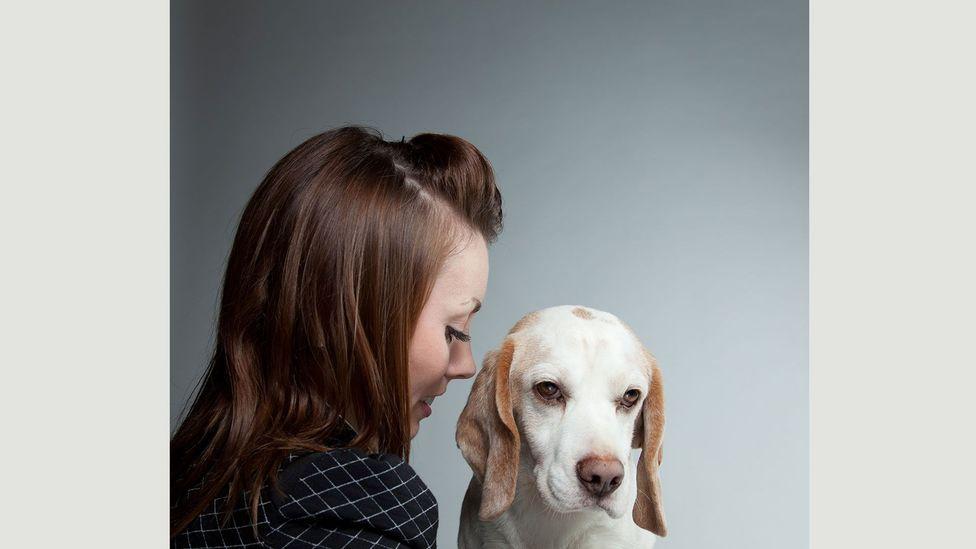 Gerrard Gethings' portraits of dog show contestants reveal an intimate bond that crosses the boundaries between species (Credit: Gerrard Gethings)