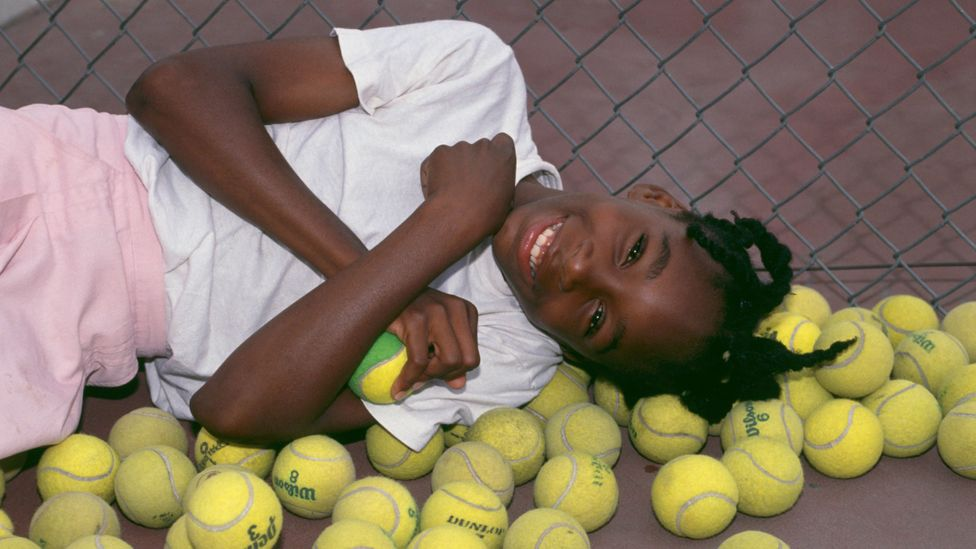 Child prodigy: Venus Williams at ten years old. (Credit: Getty Images)