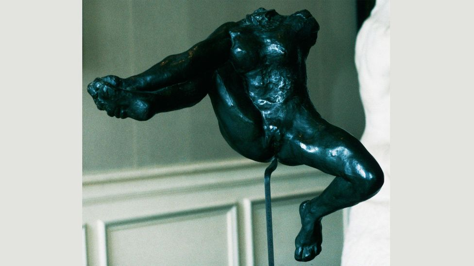 Rodin's curiosity about female sexuality is apparent in more explicit works of art at the Musée Rodin, such as Iris, Messenger of the Gods (Credit: Gian Berto Vanni/Corbis)