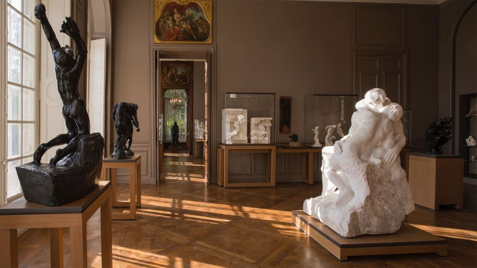 In the refurbished museum, The Kiss occupies a prominent position in the middle of a gallery on the ground floor (Credit: Musée Rodin/J Manoukian)