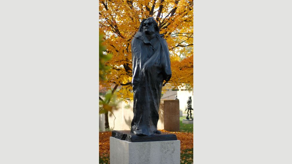 """Rodin's Monument to Balzac, from 1898, was described by Catherine Lampert as the artist's """"most radical work"""" (Credit: Jeff Kubina/Wikipedia/CC BY-SA 2.0)"""