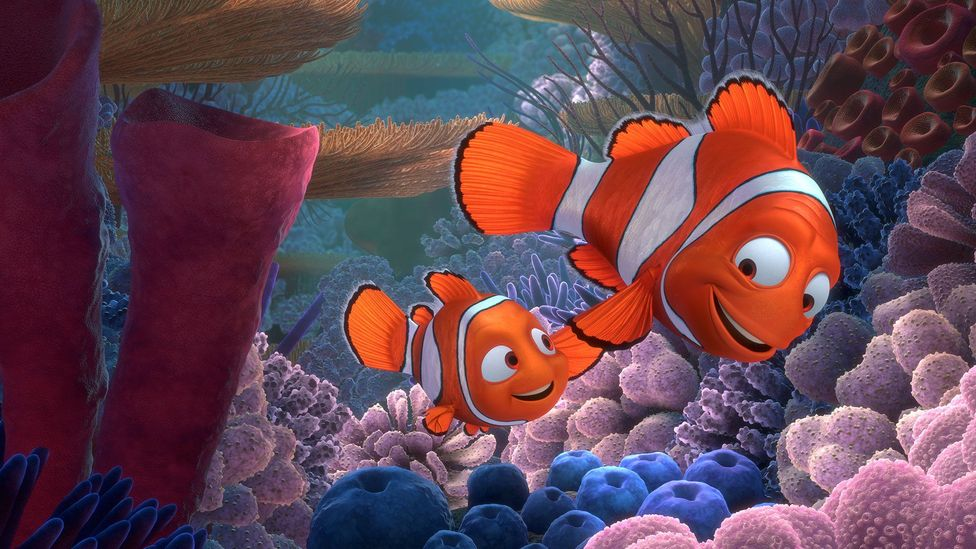 Finding Nemo is built on the anxieties of Nemo's father, a widower packing his son off to school (Credit: Disney/Pixar)