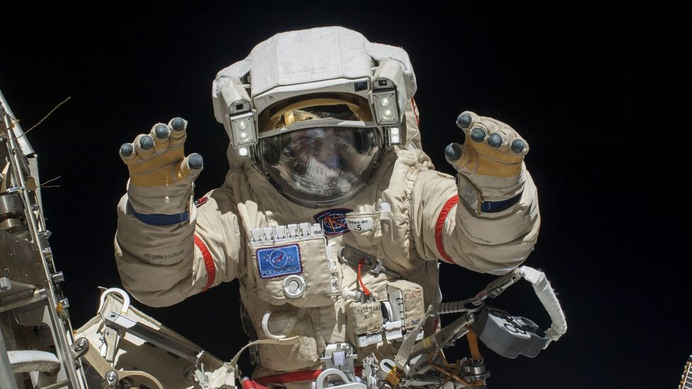 On the ISS, astronauts are a short ride away from life-saving attention - but what if they were halfway to Mars? (Credit: Nasa/SPL)