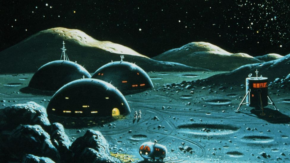 Will future Moon bases need their own hospitals? (Credit: David A Hardy/Science Photo Library)