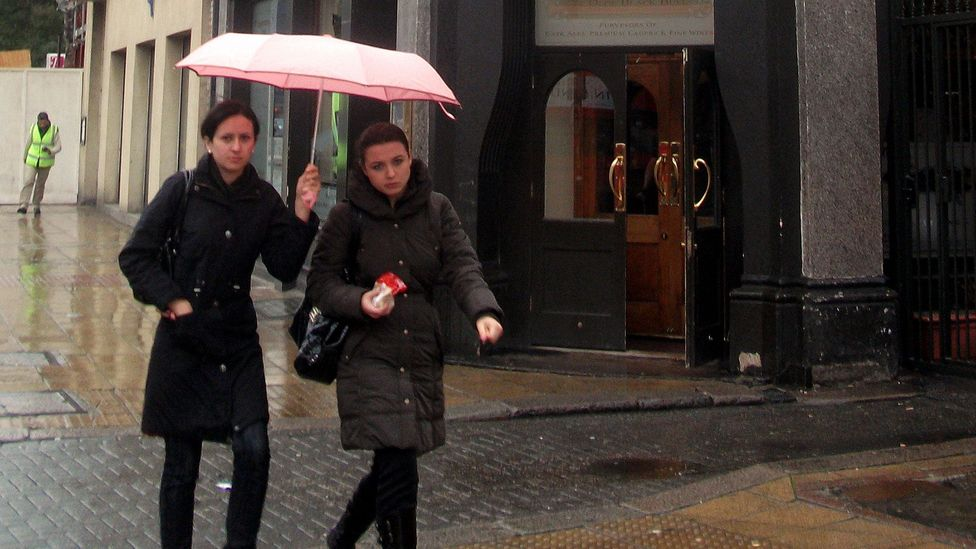 Despite our hunger for social connections, we often reject genuine acts of generosity, such as an offer to share an umbrella on a rainy day (Credit: Flickr/DncnH/CC-BY-2.0)