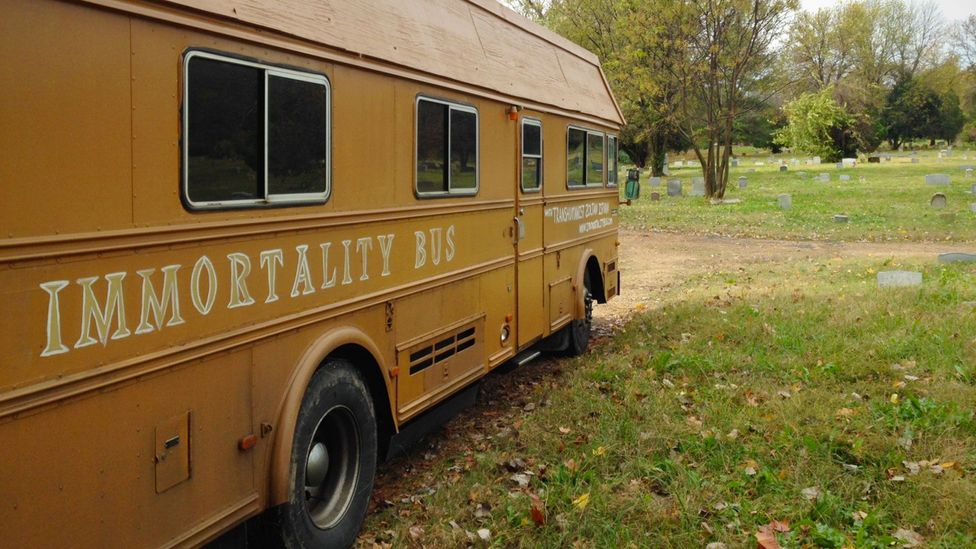 The Immortality Bus was funded through a crowdfunding campaign (Credit: Zoltan Istvan)