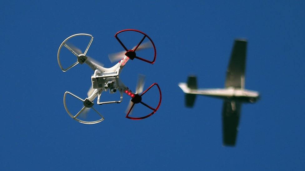 To keep prison numbers down, Istvan proposes using surveillance drones to watch criminals after release (Credit: Getty Images)
