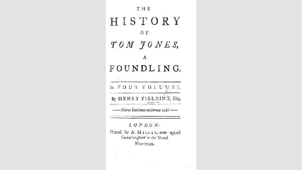22. The History of Tom Jones, a Foundling (Henry Fielding, 1749)