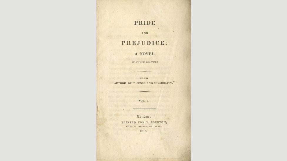 11. Pride and Prejudice (Jane Austen, 1813)