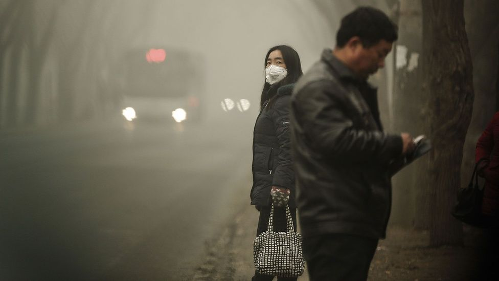 Without any other change in your lifestyle or diet, polluted air may be causing you to pile on the pounds (Credit: Getty Images)