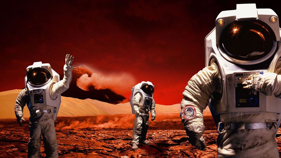 Instead of answering to Earth, some argue, Martian settlers should run their own affairs (Credit: Getty Images)