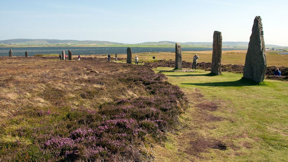 The Ring of Brodgar was erected around the same time as Stonehenge, some 4,500 years ago (Credit: Amanda Ruggeri)