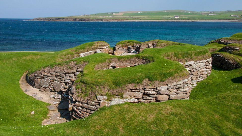 Skara Brae, first settled 5,000 years ago, is the best-preserved prehistoric village in northern Europe (Credit: Amanda Ruggeri)