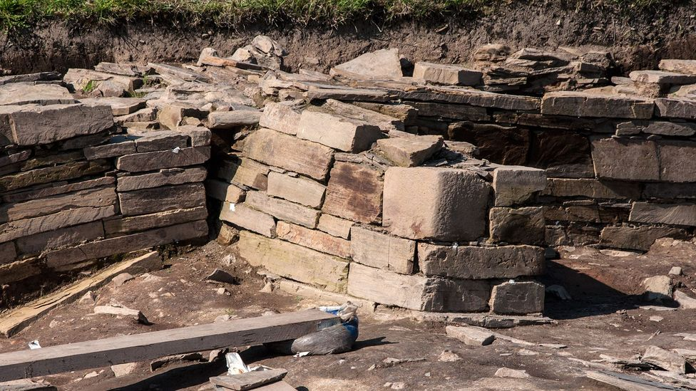 Despite being 5,000 years old, the stone walls at the Ness look like they could have been built yesterday (Credit: Amanda Ruggeri)