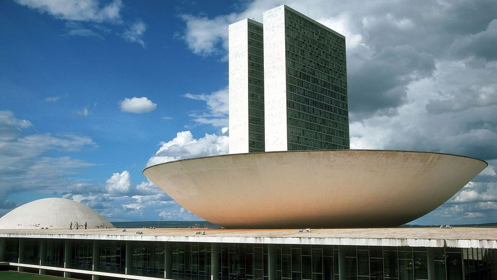 A modern 'ideal city', Brasilia was built within four years to designs by Oscar Niemeyer and Lucio Costa (Credit: INTERFOTO /Alamy Stock Photo)