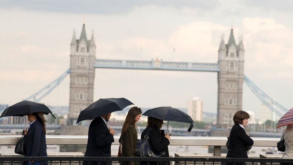 For a country like Britain, which privileges personal space, the weather provides a safe topic of conversation (Credit: Alex Segre/Alamy)