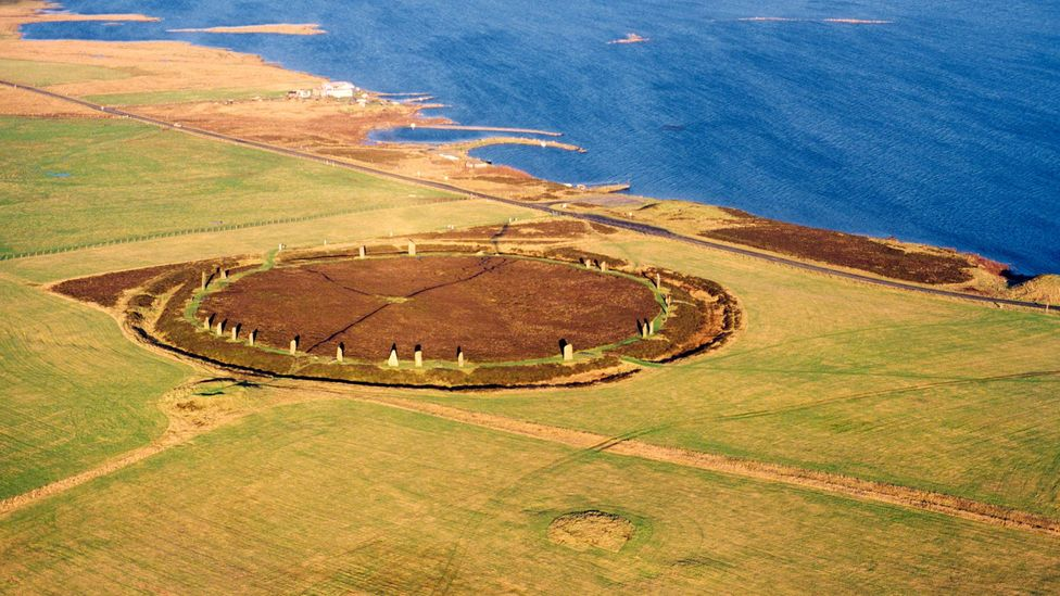 Ring of Brodgar prehistoric stone circle in Orkney Islands (Credit: David Lyons/Alamy)